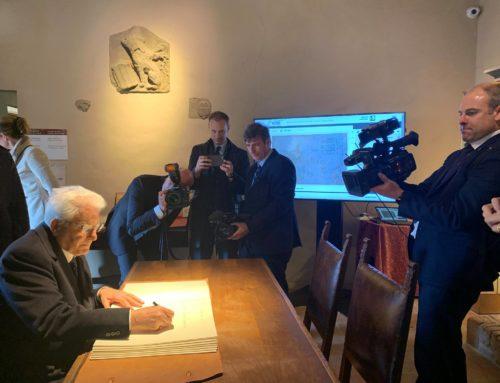Var Group Digital mostra il progetto e-Leo al Presidente della Repubblica Sergio Mattarella