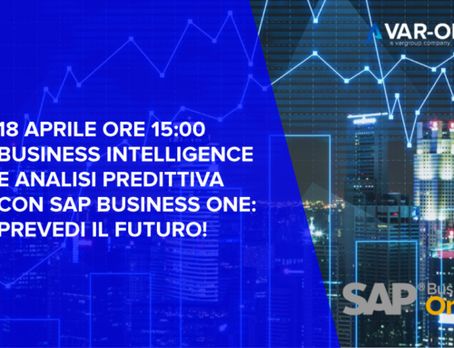 Webinar Business Intelligence & Analisi predittiva – SAP Business One