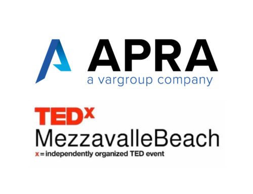 """What if something happens?"" – Apra è main sponsor del TEDx Mezzavalle Beach"