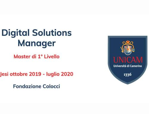 MASTER Digital Solutions Manager UNICAM in collaborazione con Apra