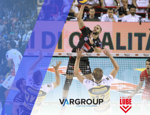 Var Group diventa Exclusive Innovation Partner di Lube Volley