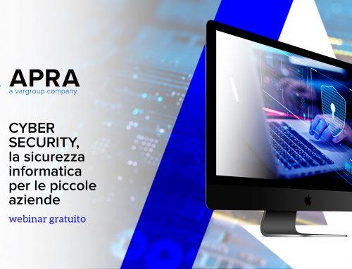 Webinar Cyber Security – la sicurezza informatica per le piccole aziende